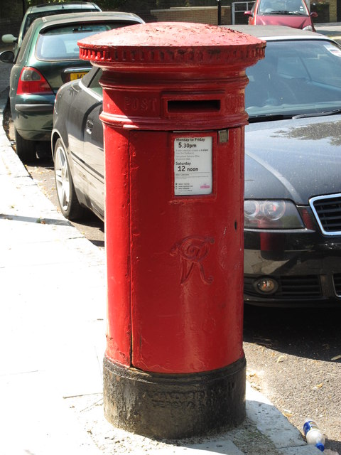 Victorian postbox, Mortimer Crescent, NW6