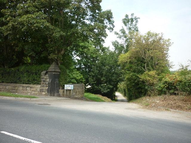 Gallows Hill, Pool Road, Otley