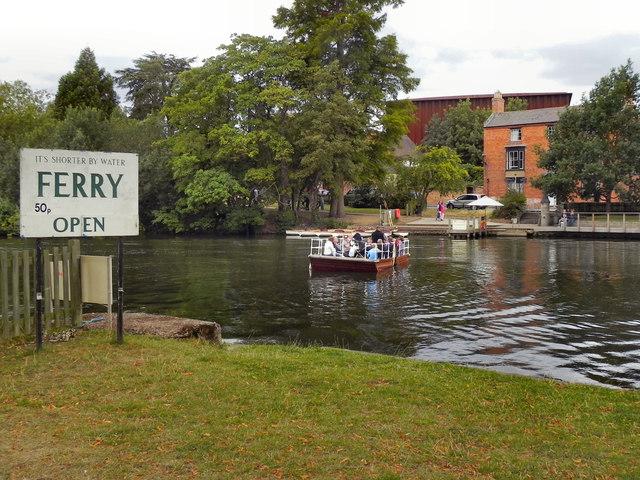 River Avon, Ferry at Stratford