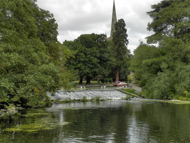 Stratford Weir, River Avon