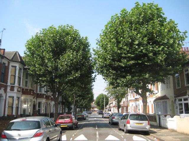 Plaistow: Wigston Road, E13