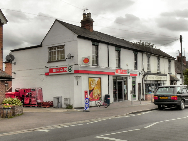 Spar and Post Office, Tiddington Main Street