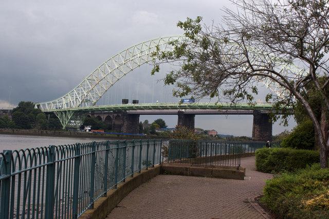 That tree is half as big as the Runcorn Bridge