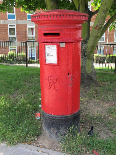 Victorian postbox, Abbey Road, NW8