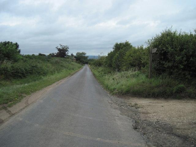 Lane  into  Sherburn
