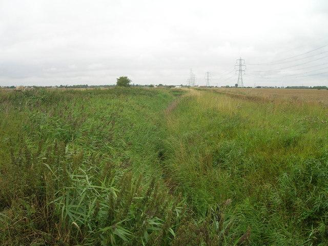 Drainage ditch, Broadlane Gate