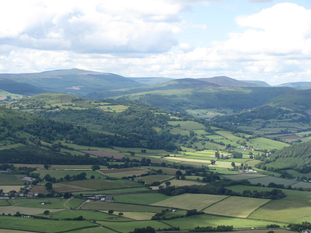 View to the Black Mountains