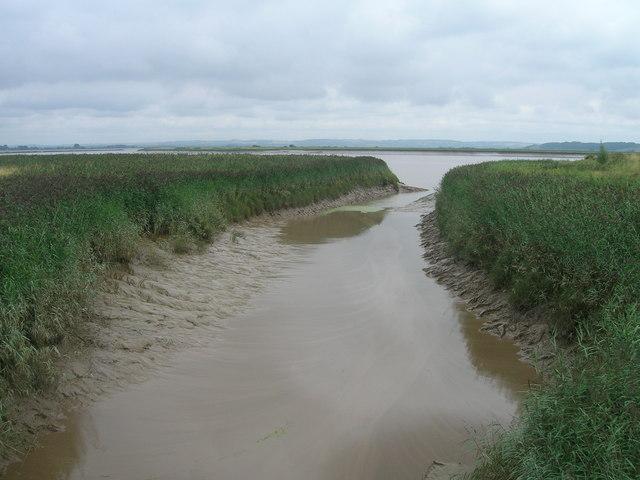 Adlingfleet Drain flows into the Trent