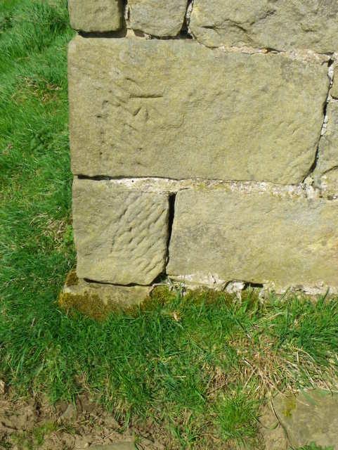Bench Mark, High Barn