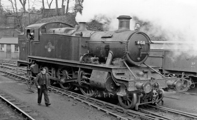GW 2-6-2T at Wellington Locomotive Depot