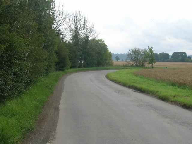 Minor road towards Garthorpe