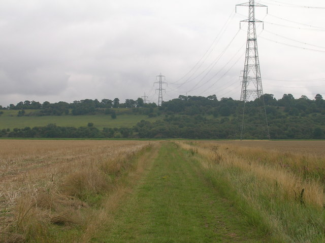 Farm track towards the River Trent