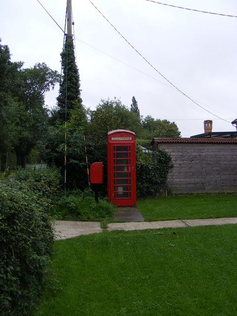 Telephone Box & Rookery Road Postbox