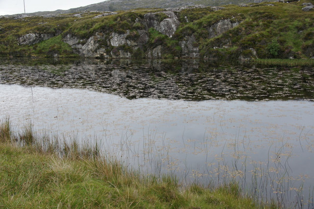 Small lochan by the start of the Golden Road at Horsacleit