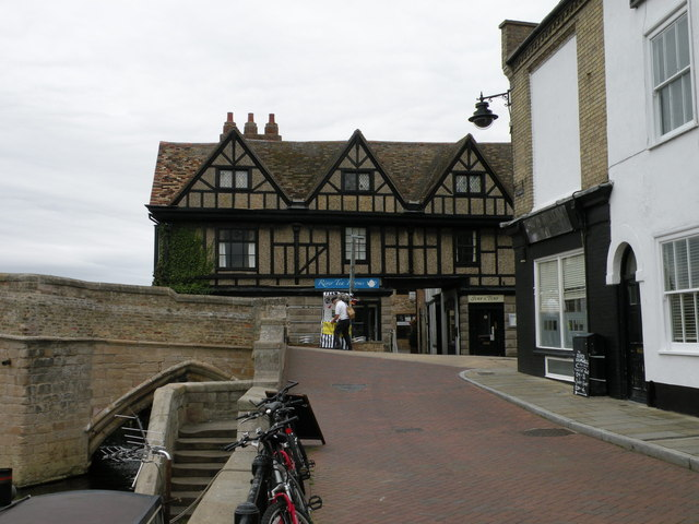 The Manor House seen from the Quay