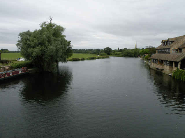 Tranquil scene on the Ouse