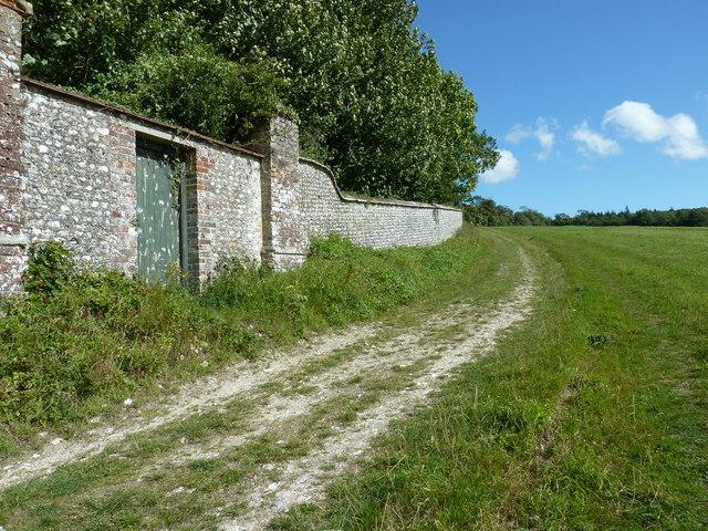 Gateway in the West Dean Estate wall