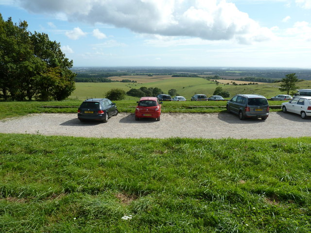 Car park below The Trundle
