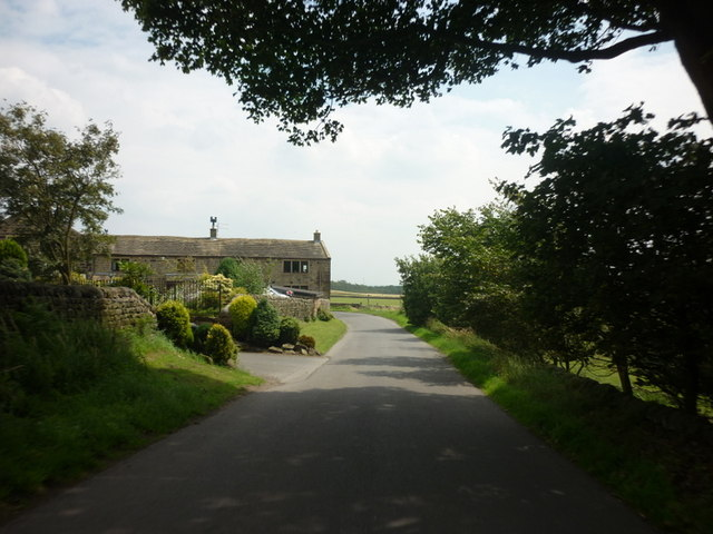 The Old Barn on Old Lane near Bramhope