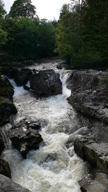 Afon Llugwy yn Betws-y-Coed (The River Llugwy at Betws-y-Coed)