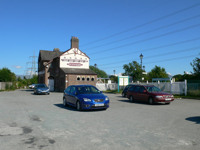 The station at Llanfairpwll