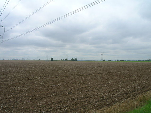 Farmland near Mere Dyke