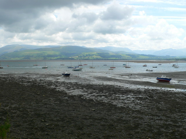 View across the Menai Straits from Beaumaris