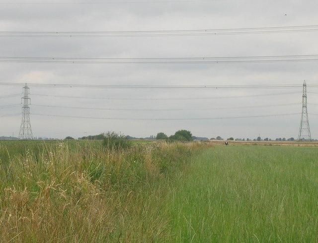 Farmland near the River Trent
