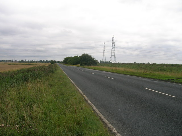 A18 towards Althorpe