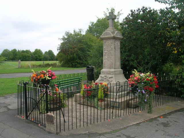 War memorial, Ealand
