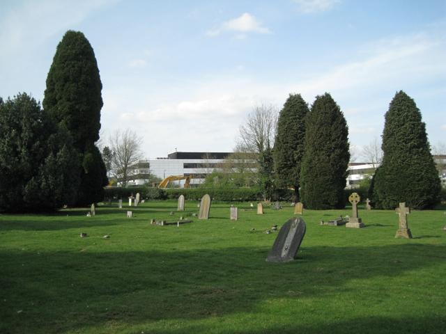 East side of Warwick old cemetery