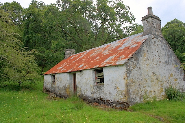 Abandoned Croft near Stonefield