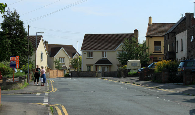 2011 : Conversation in Buckingham Place, Downend