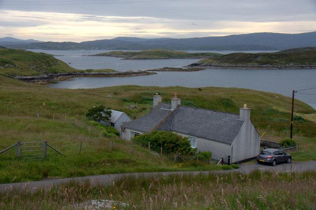 House on Scalpay (Sgalpaigh)
