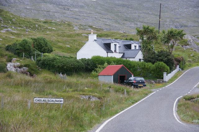 House at Caolas Sgalpaigh