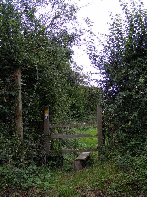 Footpath to Swan Lane