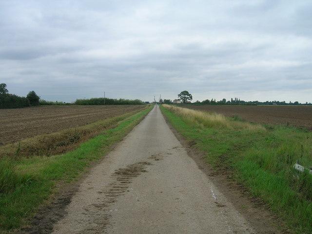 Washingall Lane heading north