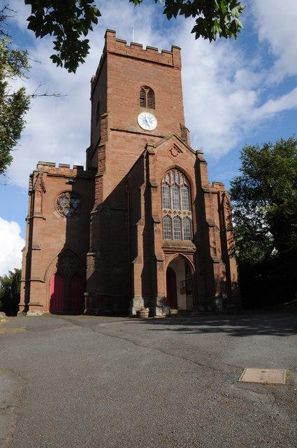 Hartlebury church