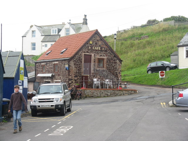 Cafe at St Abb's harbour