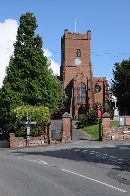Hartlebury church