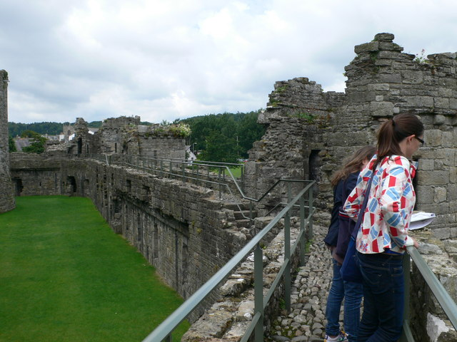 Castle Walls, Beaumaris