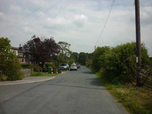 Moorland Road, towards Moor road