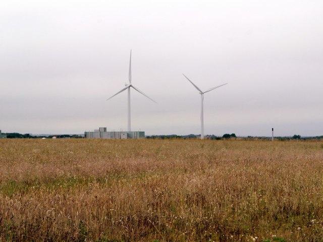Wind turbines, Windmill Industrial Estate