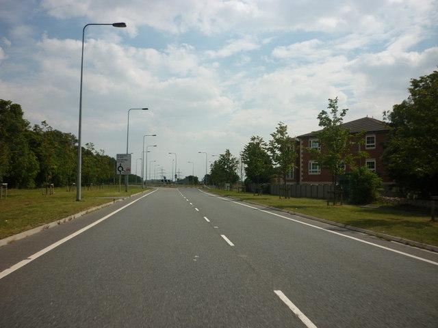 The A1 at Fairburn