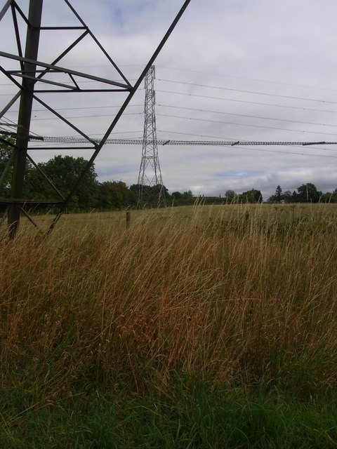 Under one pylon to another