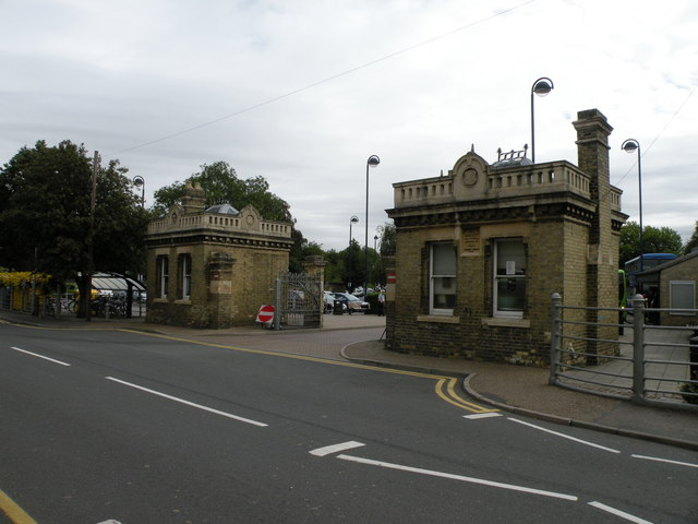 St Ives Bus Station Gates