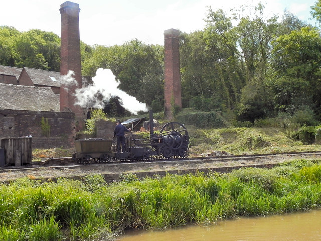 Steam Engine and Brickworks, Blists Hill