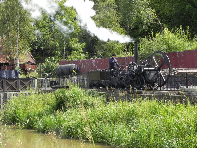 Replica Steam Locomotive, Blists Hill