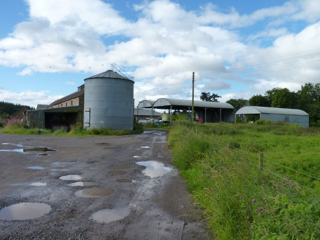 Variety of agricultural buildings