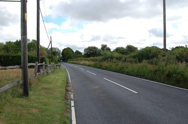 Cranbrook Road at Golford